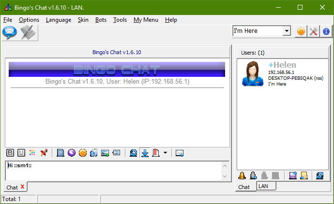 Enterprise Messenger With Own Server Replacing Bingos Chat