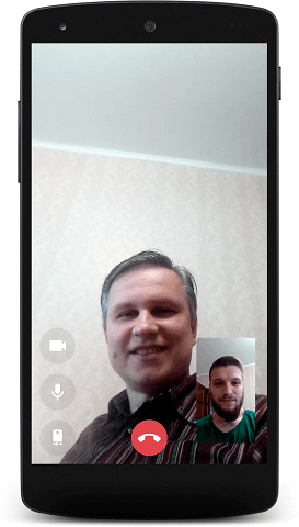 Video call in MyChat for Android